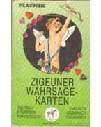 Zigeuner Wahrsagekarten (kártyacsomag+füzet)