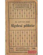 Algebrai példatár