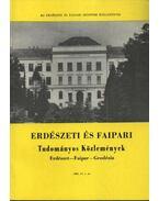 Erdészeti és faipari Tudományos közlemények 1990. év 1. sz.
