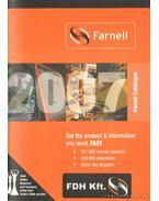 Farnell Catalogue 2007 (angol-nyelvű elektronikai-alkatrész katalógus)
