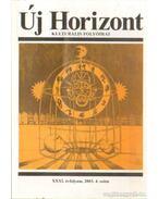 Új Horizont 2003. XXXI. évf. 4. szám