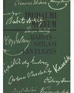 Babits-Szilasi levelezés
