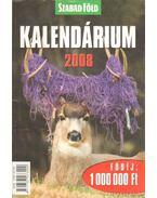 Szabad Föld kalendárium 2008