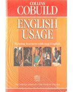 The Collins Cobuild English Usage