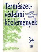Természetvédelmi közlemények 1996 3-4
