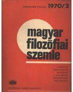Magyar filozófiai szemle 1970/2.