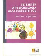 Fejezetek a pszichológia alapterületeiből