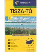 Tisza-tó turistatérkép (1:40000)