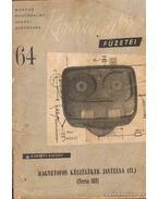 Rádióamatőr füzetei 64 - Kárpáti Zoltán