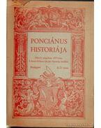 Ponciánus historiája