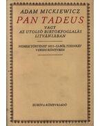Pan Tadeus - Mickiewicz, Adam