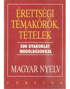 Érettségi témakörök, tételek - Magyar nyelvi gyakorlatok