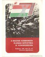 A Magyar kommunista  Ifjúsági Szövetség XI. kongresszusa