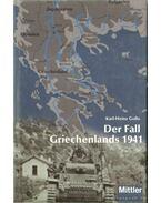 Der Fall Griechenlands 1941
