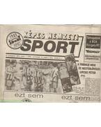 Képes Nemzeti Soprt 1992. november III. évfolyam (hiányos)