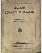 Magyar főrangu családok