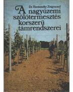 A nagyüzemi szőlőtermesztés korszerű támrendszerei