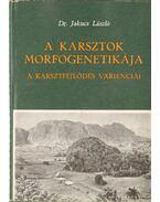 A karsztok morfogenetikája