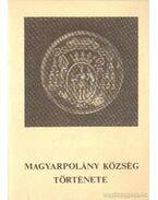 Magyarpolány község története