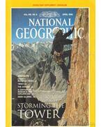National Geographic April 1996 Vol. 189. No. 4.