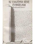 Az esszénus béke evangélium - Harmadik könyv