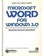 Microsoft Word for Windows 2.0