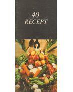 40 recept