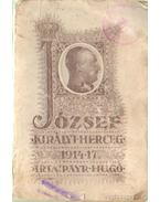 József királyi herceg 1914-17