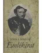 Emlékirat - Jósika Miklós