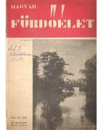 Magyar fürdőélet 1934. IV. évf. 3-4. szám