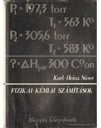 Fizika-kémiai számítások
