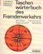 Taschen wörterbuch des Fremdenverkehrs