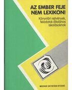 Az ember feje nem lexikon - Könyvtári rejtvények, feledatok általános iskolásoknak