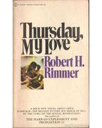 Thursday, My Love