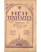 Méhtenyésztés 1931. (hiányos)