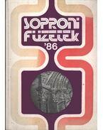 Soproni Füzetek '86