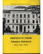 Erdészeti és faipari Tudományos közlemények 1985. év 1-2. sz.