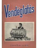 Vendéglátás II. évfolyam 1. szám 1958. február