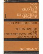 Grundzüge der Inhaltbezogenen Grammatik