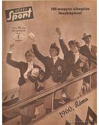 Képes sport 1960. VII. évf. (hiányos)