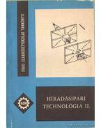 Híradásipari technológia II.