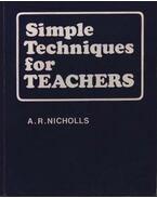 Simple Techniques for teachers
