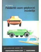 Felderítő úszó gépkocsi modellje