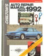 Chilton's Auto Repair Manual 1988-1992