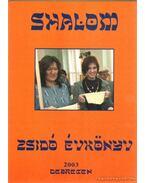 Shalom - Zsidó tudományos és művészeti évkönyv 2003