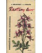 Rastliny lesov I-II-III. kötet
