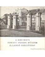 A szécsényi Kubinyi Ferenc Múzeum állandó kiállításai