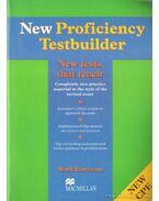 New proficiency testbuilder (angol)