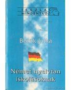 Német nyelvtan iskolásoknak
