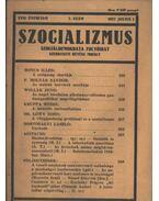Szocializmus 1927/7. szám